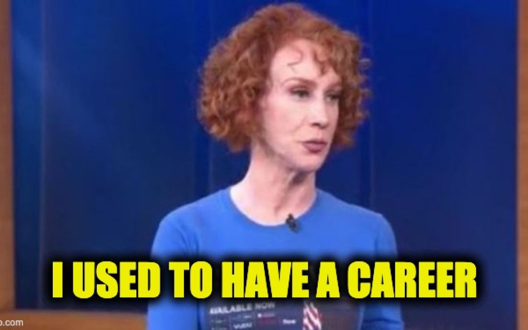 Kathy Griffin Tries To Destroy The Tiny Piece Of Career She Has Left
