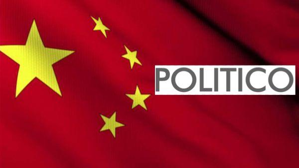 Politico China propaganda