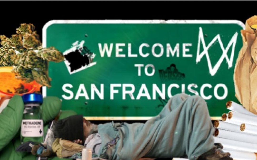 San Fran Is Delivering Alcohol, Tobacco, Pot, And Methadone To COVID-Positive Homeless Addicts Sheltering In Hotels