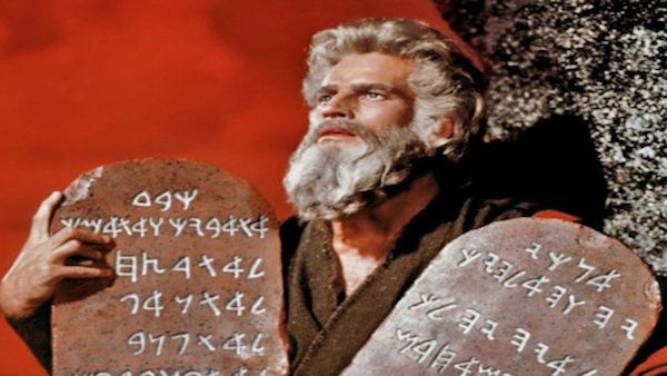 Shavuot ten commandments