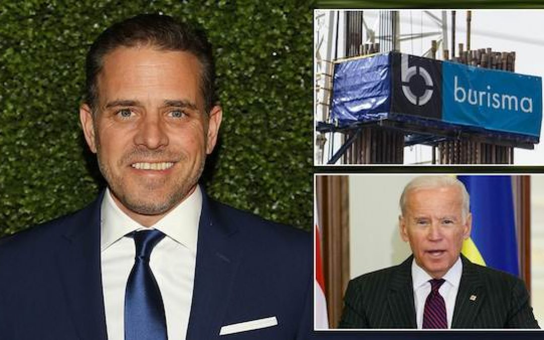 Hunter Biden's Ex-Firm, Burisma Accused Trying to Bribe Anti-Corruption Ukrainian Officials