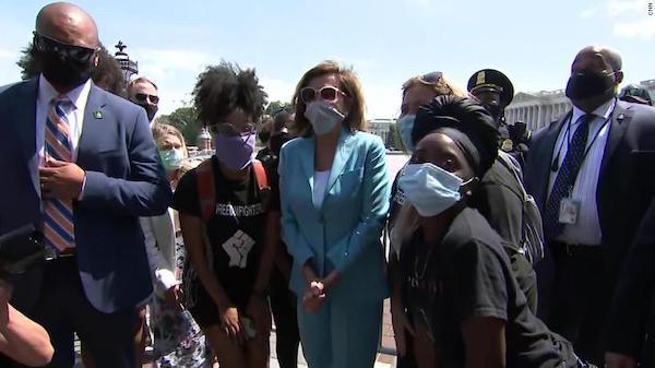 Pelosi D.C. protests