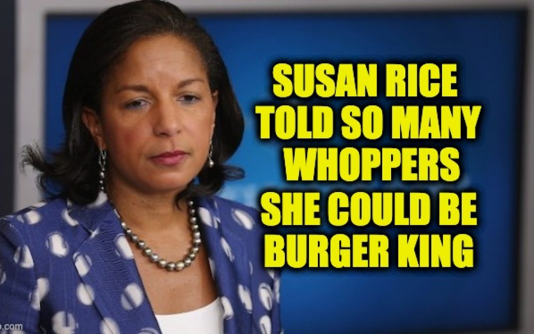 Susan Rice Suggests Russia Could Be Funding Violent Riots
