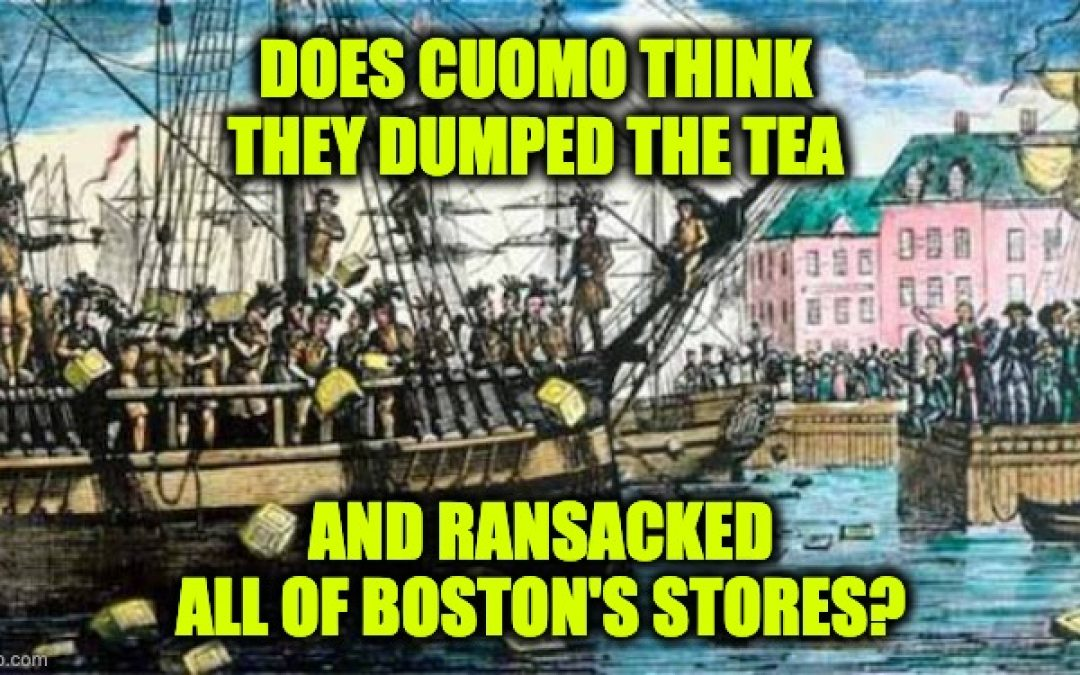 CNN's Chris Cuomo Compares Rioters To  Boston Tea Party