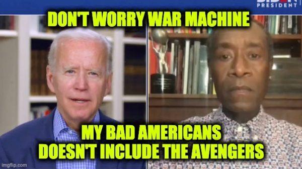Biden 10 to 15% Americans