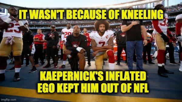 Colin Kaepernick's ego