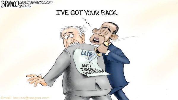 Obama anti-Israel resolution