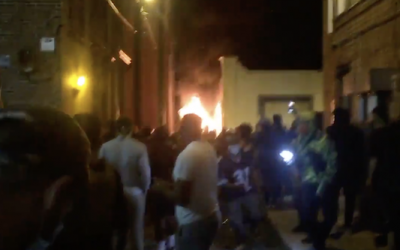 Richmond Rioters Block Fire Trucks After Setting Fire to Family Unit With Child Inside