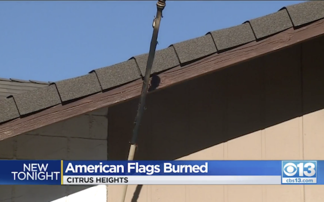 Flying Old Glory? Your House Just Might Get Torched By Rampaging Unhinged Leftists