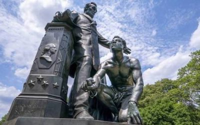 EPIC: Black Woman Takes La Fayette's Lincoln Statue Topplers To Truthtown