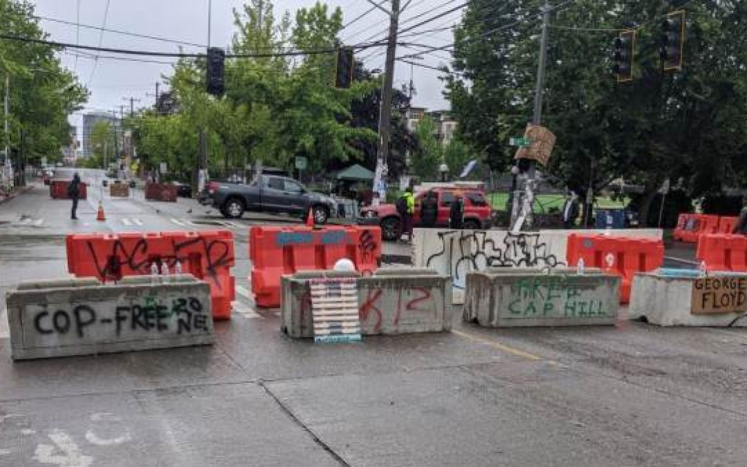 WAR ZONE: Antifa Takes Over Six City Blocks in Seattle, Say They're Seceding From U.S.