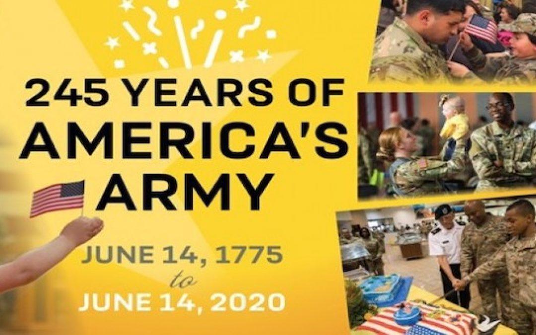Happy 245th Birthday U.S. Army