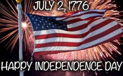 Today, July 2nd Is Independence Day, Just Ask John Adams