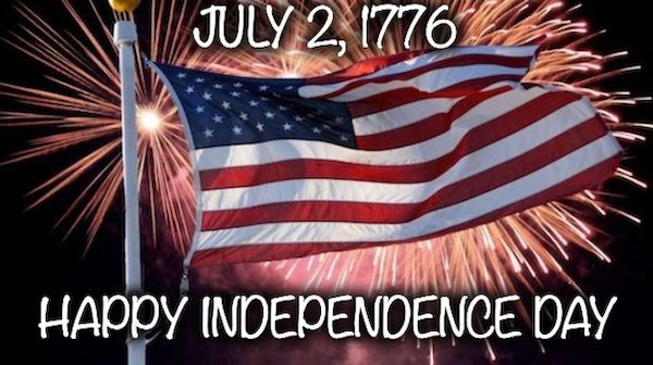 July 2nd Independence Day