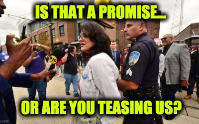 "Rashida Tlaib on Sending Federal Law Enforcement to Detroit, ""They'll Have to Arrest Me First"""