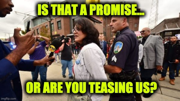 Rashida Tlaib arrest me