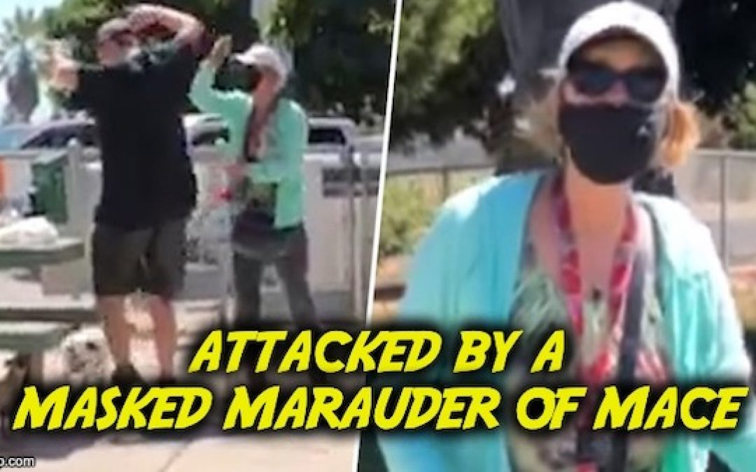 Cali Woman Blasts Strangers With Mace For Eating In A Park Sans Mask (Video)