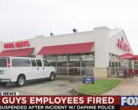 Five Guys Fire/Suspend Employees Who Refused to Serve Police Officers