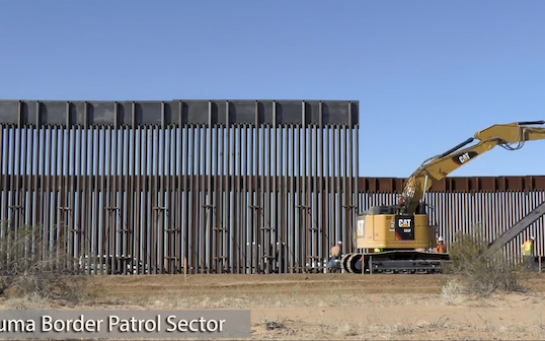 Pandemic Defense: Trump's Maligned Wall Stopped A Crapton Of People From Sneaking In