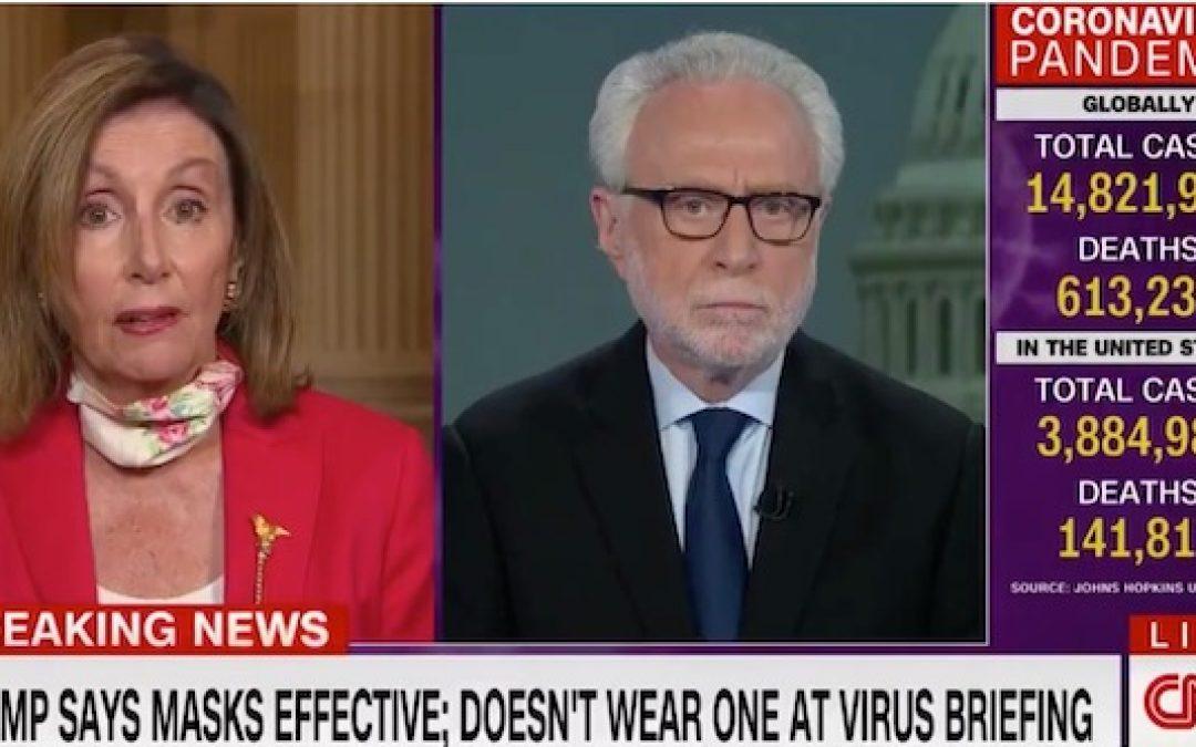 Nasty Nancy Pelosi Says COVID-19 Is the 'Trump Virus'