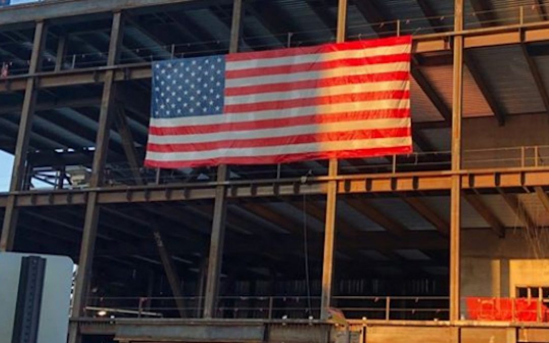 Virginia Ordered American Flag Removed From Construction Site
