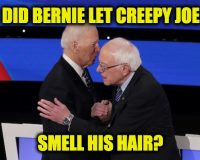 Bernie Likes Biden's New Progressive Agenda, Maybe Because Joe Plagiarized It From Him
