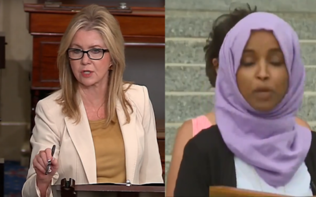 Sen. Marsha Blackburn Calls On Ilhan Omar to Resign For 'Threat to Our Democracy'
