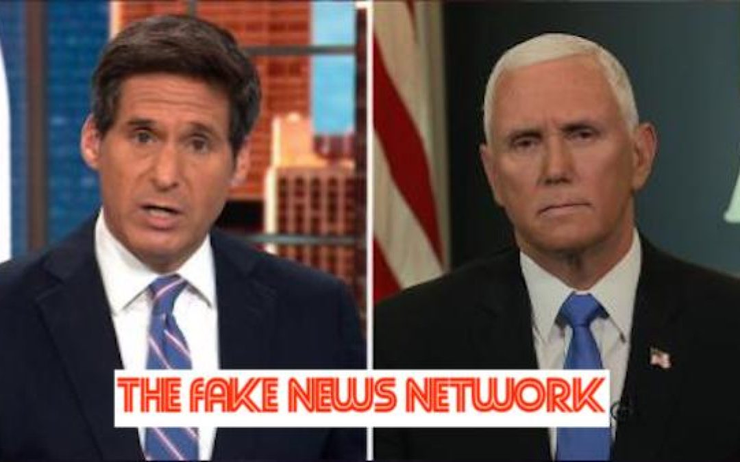 Pence Slams CNN: Your Network Was 'Wrong About a Lot' Regarding Pandemic (WATCH)