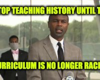 State Rep. Calls for Illinois to Stop Teaching History-Curriculum Leads To 'A Racist Society' (NOT Satire)