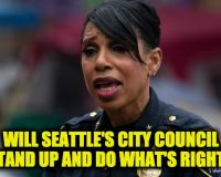Seattle Police Chief Best Shreds City Council After Angry Activists Target Her Home