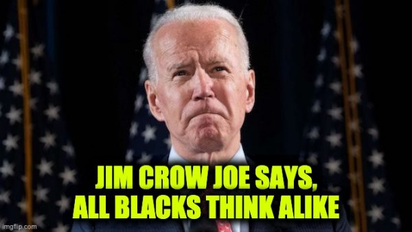 Joe Biden Blacks think alike