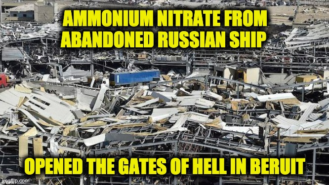ammonium nitrate Beirut