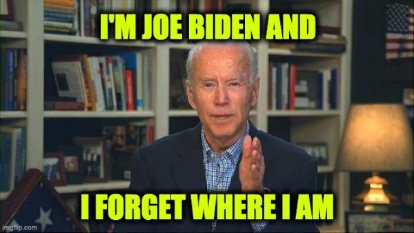 Joe Biden in hiding