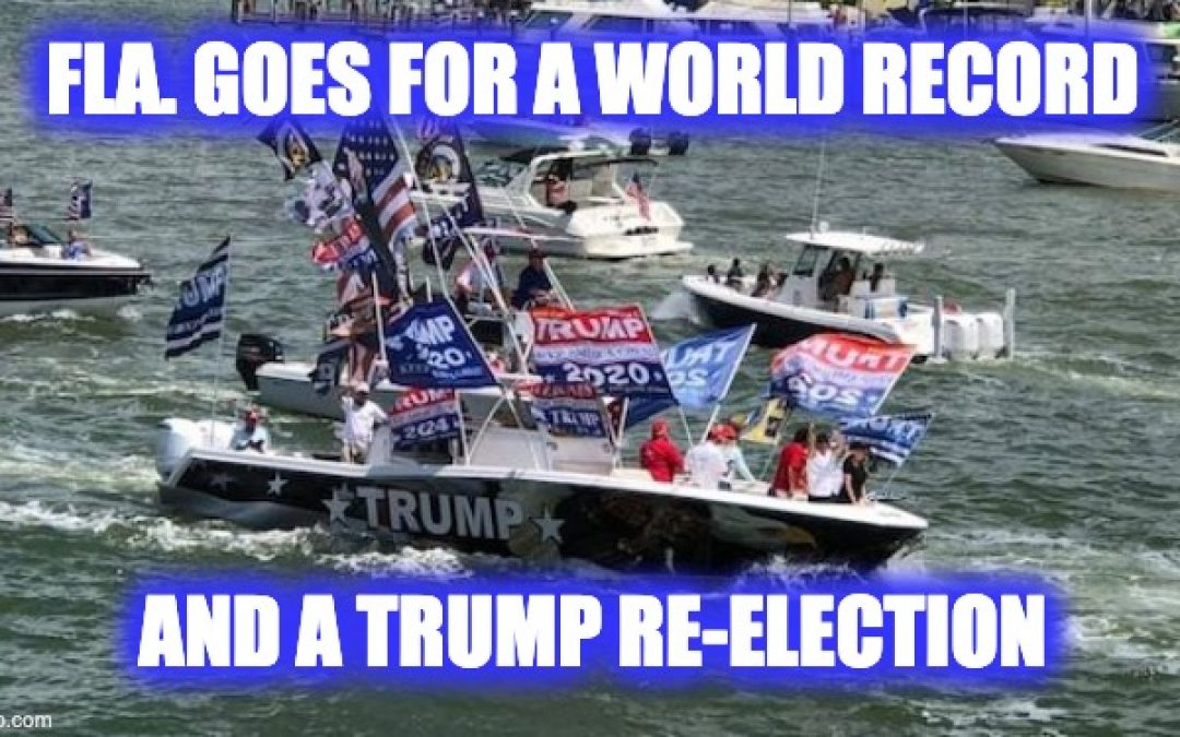 "The Trump Boat Parade – Four On Saturday, Showcased The ""Not So Silent"" Majority"