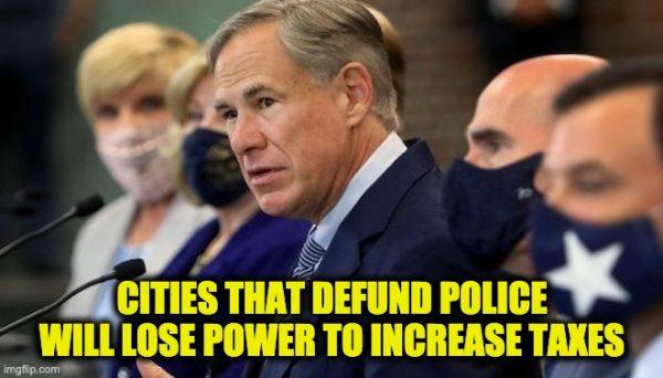 don't defund police