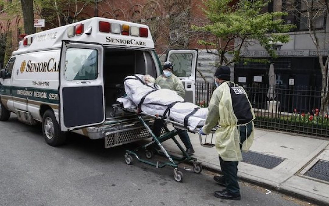 DOJ Requesting Data On COVID Nursing Home Deaths From Cuomo And Three Other Govs