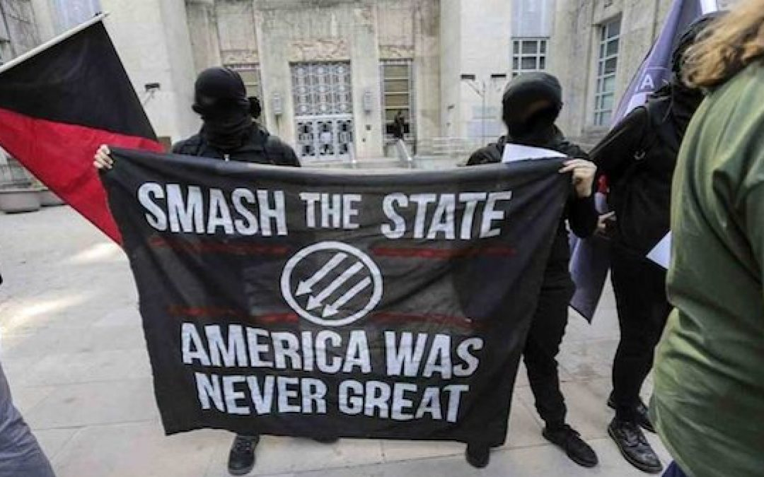 Oakland Rioters Shout: Death to America
