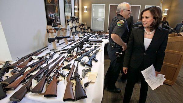 Kamala Harris guns