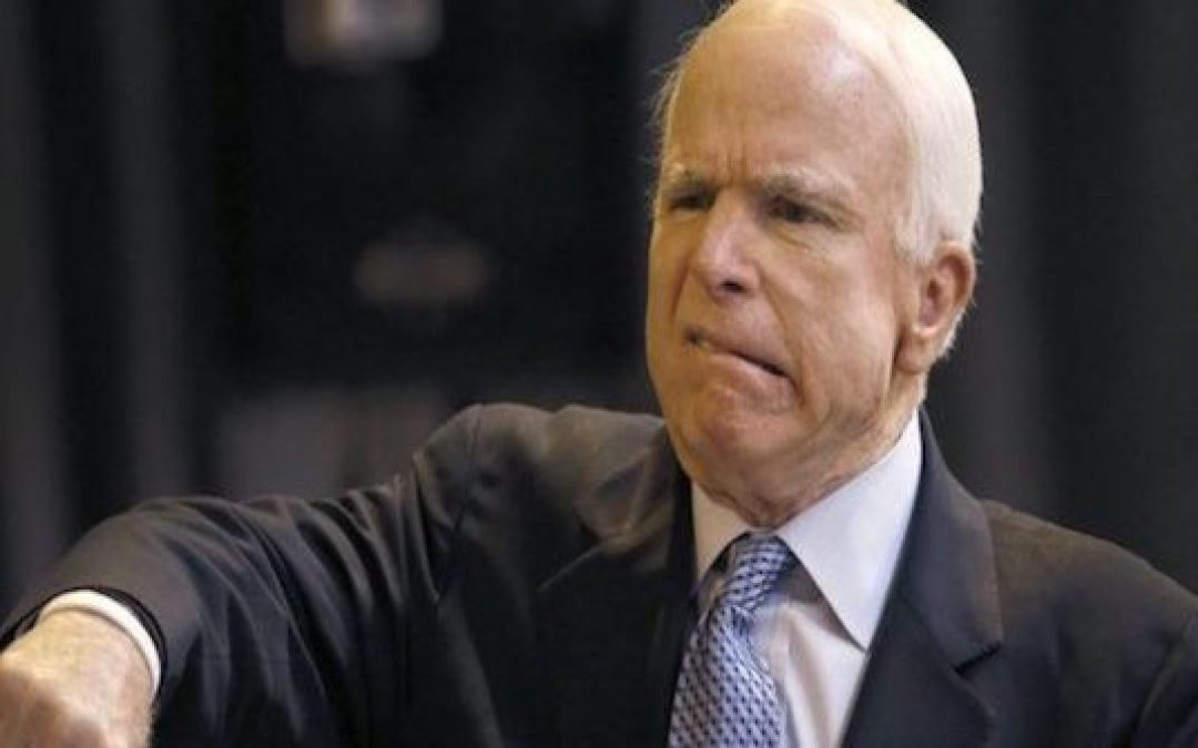 People Must Stop Defending John McCain, He Ended His Career As A Jerk, And He Started Russiagate