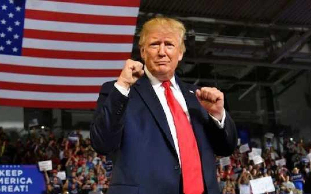 Trump Surges In Battleground States Michigan, Wisconsin In Trafalgar Poll
