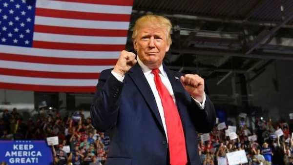 Trump battleground states