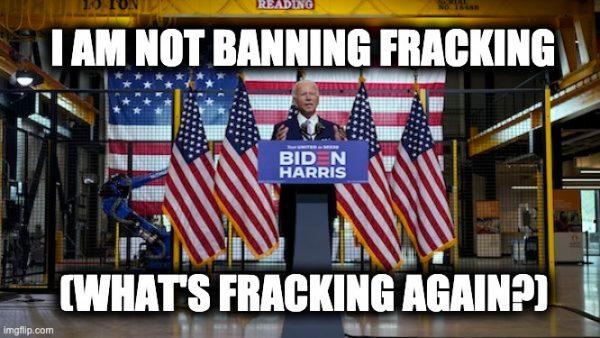 Biden fracking