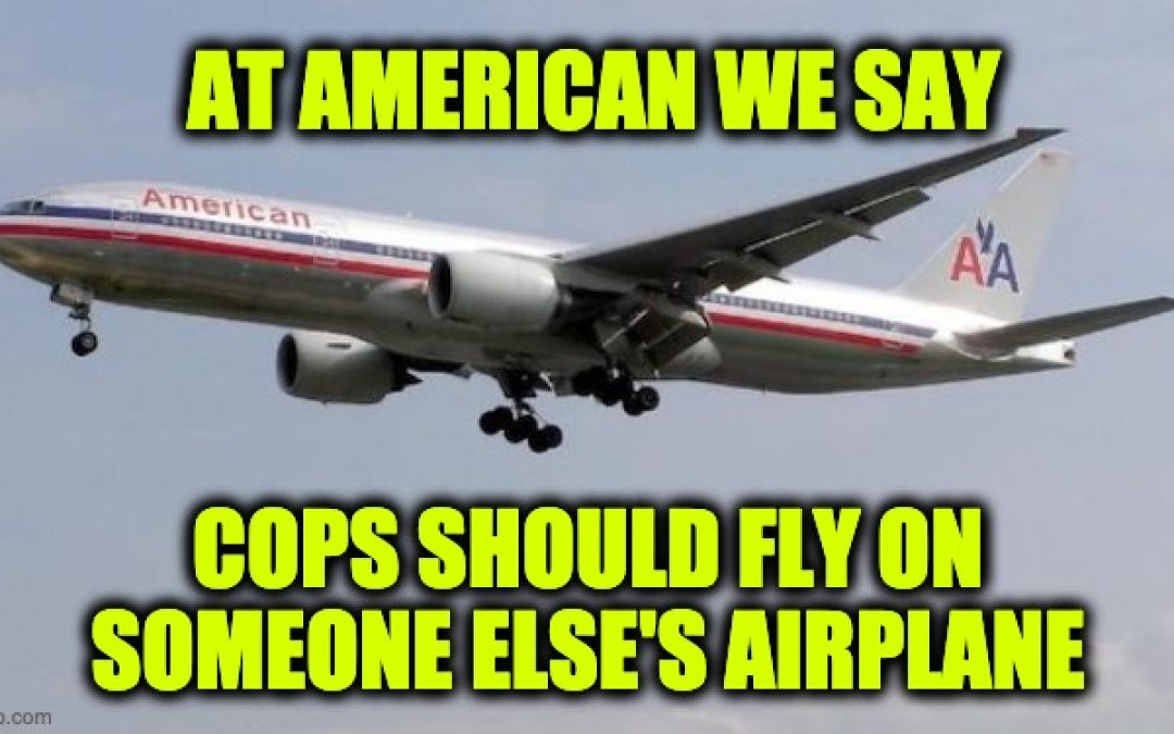 American Airlines Allows Flight Crew to Wear BLM Protest Pins on Planes