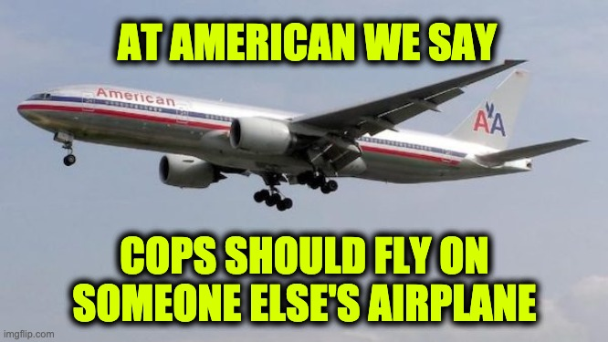 American Airlines BLM