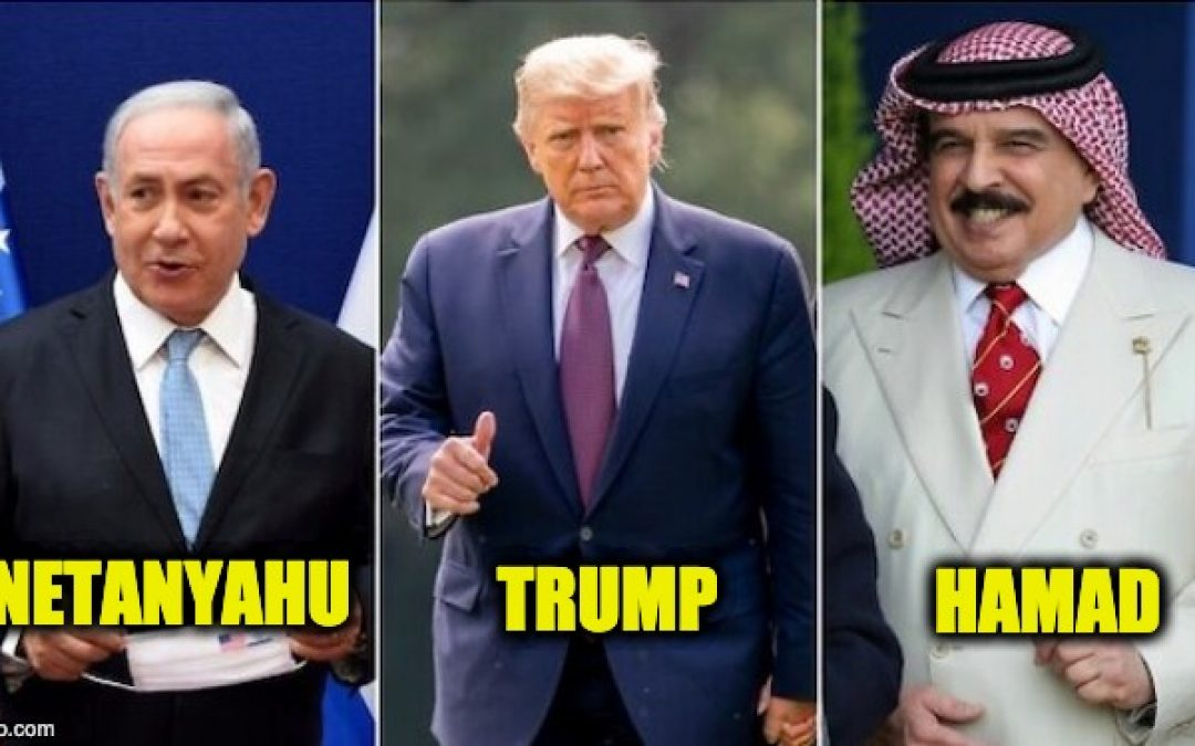 Trump Does It Again: Mediates Peace Between Bahrain And Israel UPDATED