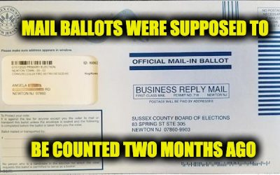 More Than 1,500 July NJ Primary Ballots Just Found-'Trust' Mail Ballots?
