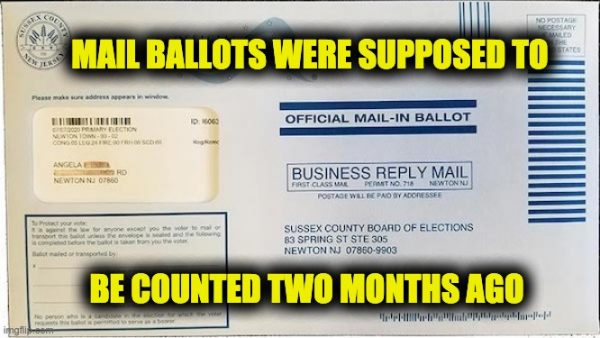 More Than 1,500 July NJ Primary Ballots Just Found-'Trust' Mail Ballots? thumbnail