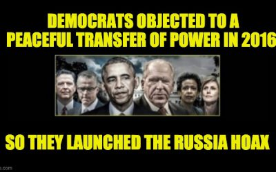 The Democrats Fought Against A Peaceful Transfer Of Power In 2016