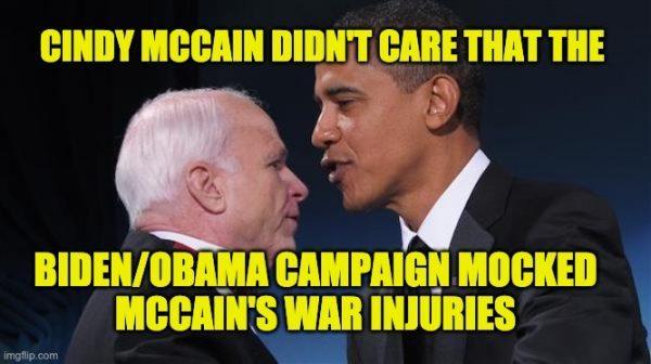 Biden mocked John McCain