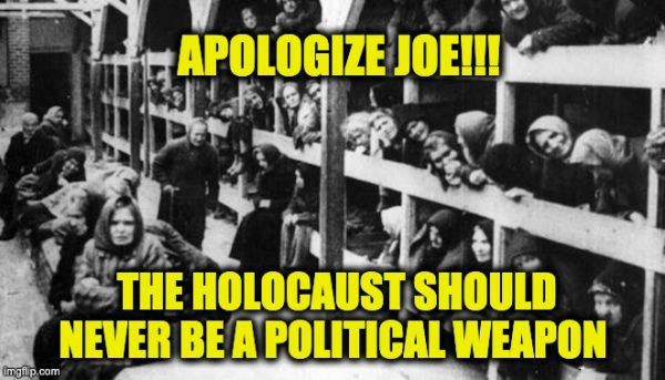 Joe Biden apologize